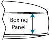 boxing panel rise height